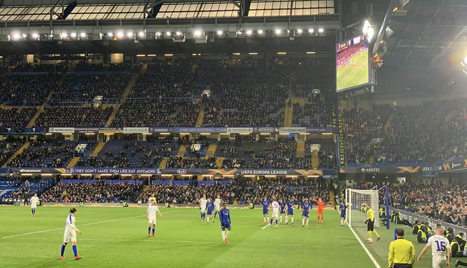 Stamford Bridge: Chelsea — Динамо Киев