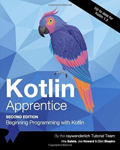 Kotlin Apprentice