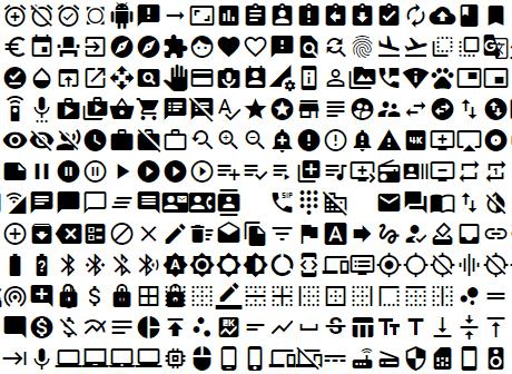 Angular Material Icons
