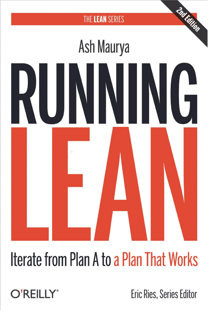 "Обложка нкиги ""Running Lean: Iterate from Plan A to a Plan That Works"""