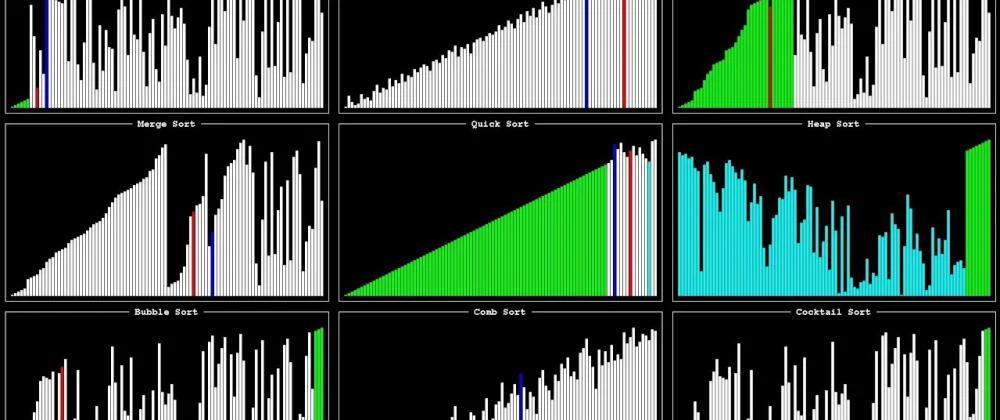 Распространенные алгоритмы сортировки с примерами на JavaScript