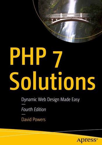"Обложка книги ""PHP 7 Solutions"""