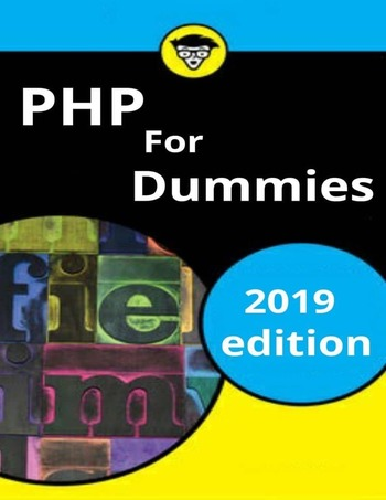 "Обложка книги ""PHP For Dummies"""