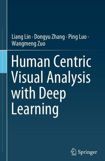"""Обложка книги """"Human Centric Visual Analysis with Deep Learning"""""""