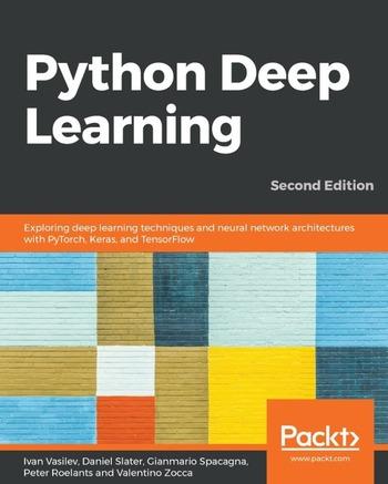 "Обложка книги ""Python Deep Learning"""
