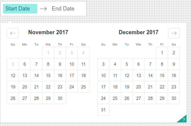 React Dates