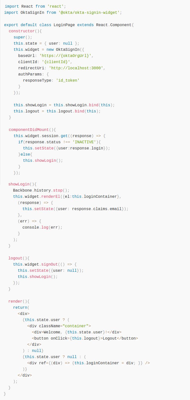 Как за 15 минут построить на React приложение с аутентификацией