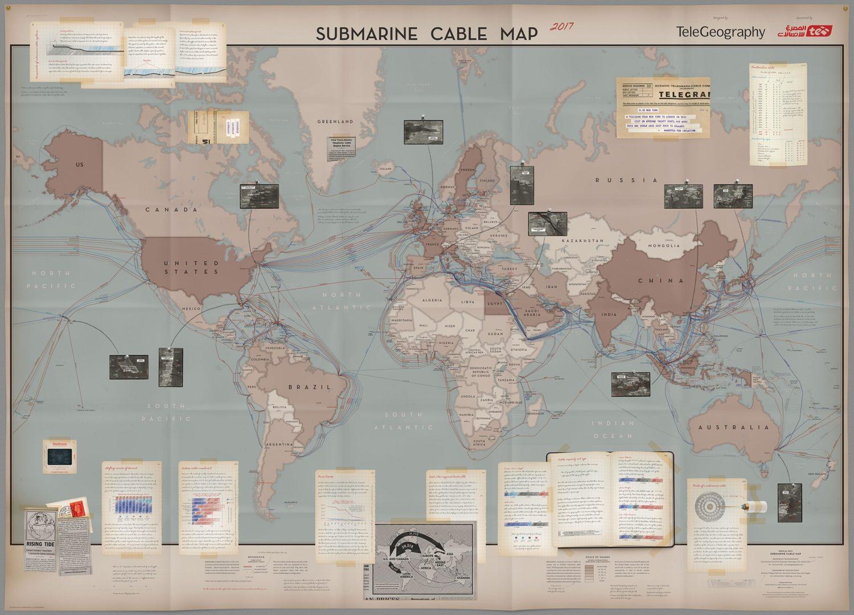 Карта прохождения кабелей